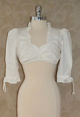 Dirndl Blouse Anneliese Ivory