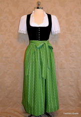 Cotton Dirndl Apron Size Medium (40 - 44)  Assorted Colours