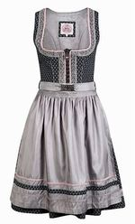 Dirndl Jessy by Marjo Midnight Blue and Silver