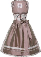 Dirndl Claire by Marjo Taupe Floral