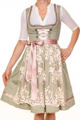 Dirndl Siggi by Marjo Sage Green -Special Buy