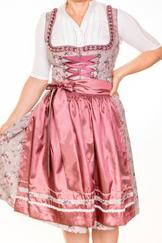 Dirndl Megan by Marjo Taupe Rose